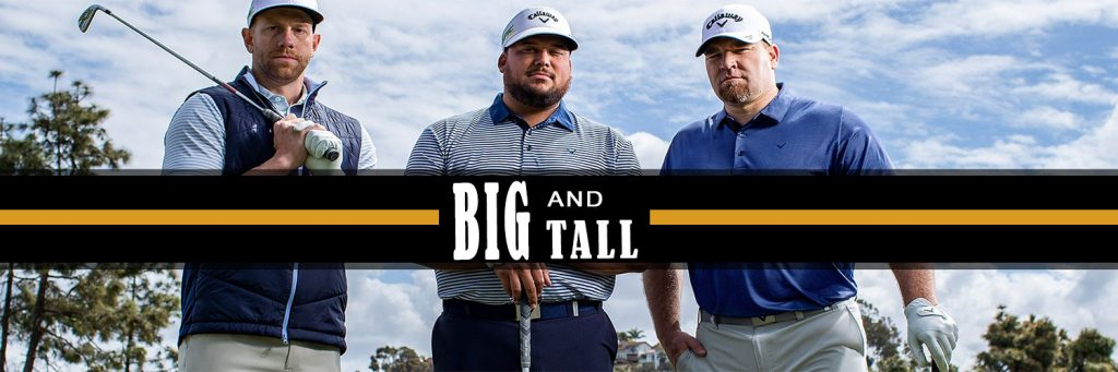24 Best Mens Big and Tall Golf Apparel To Improve Your Game & Look. 1