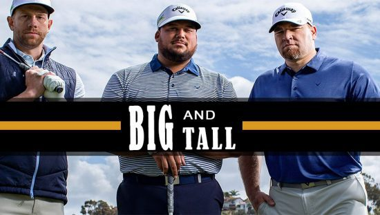 Mens Big and Tall Golf Apparel