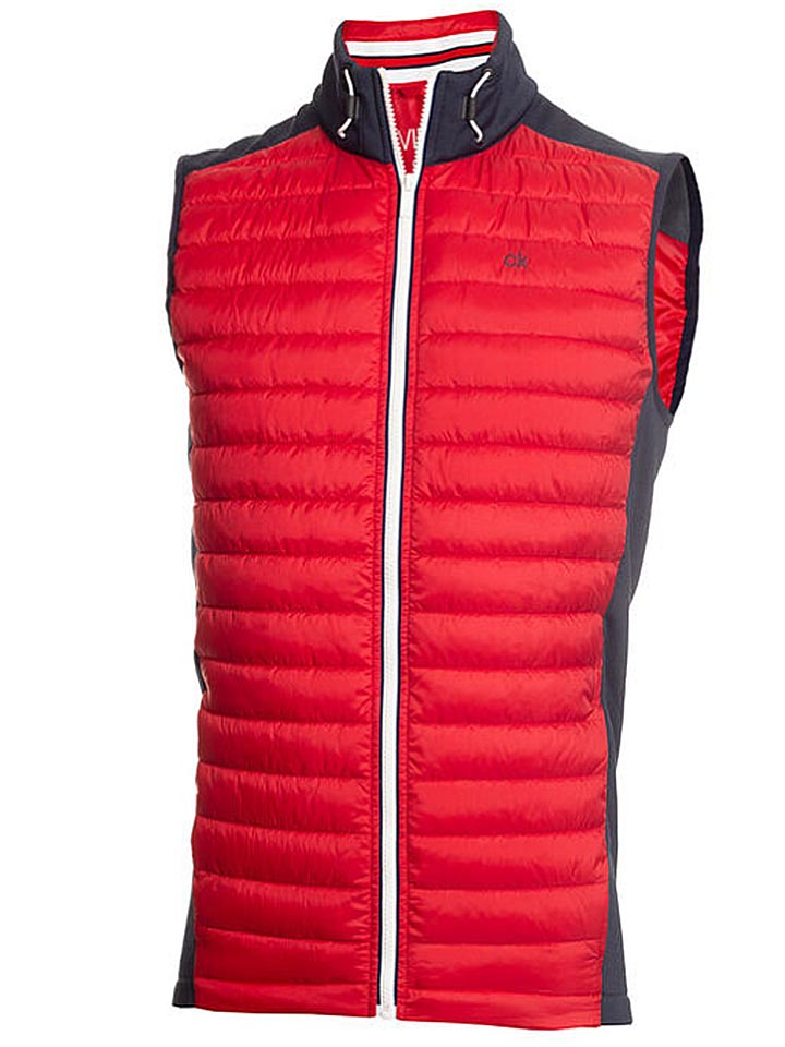 CALVIN KLEIN HYBRID GILET jacket-Mens Big and Tall Golf Apparel