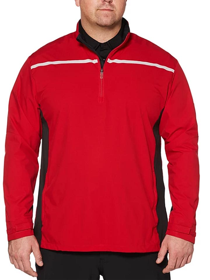 Callaway-Big-and-Tall-Repel-Long-Sleeve-Windshirt-Mens Big and Tall Golf Apparel