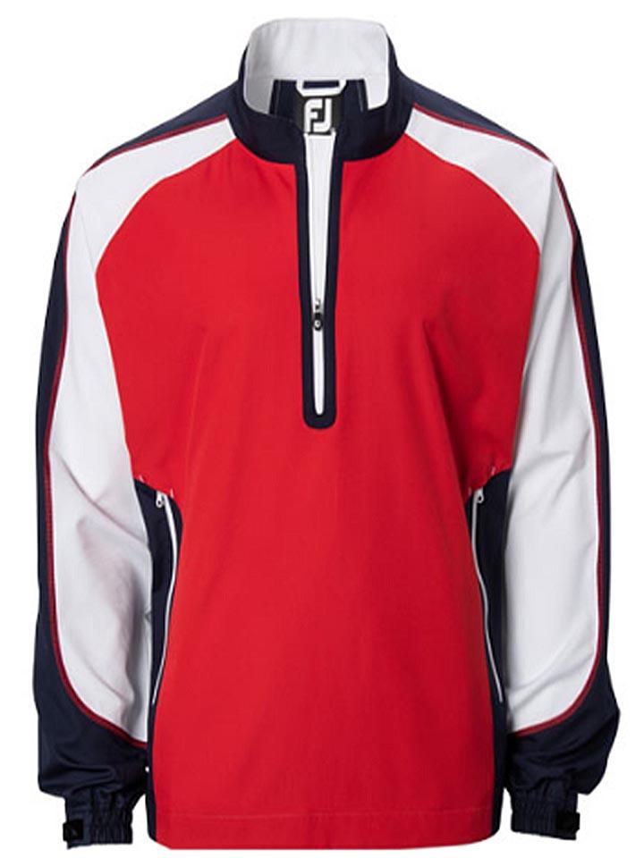 FootJoy Mens Sport Windshirt-Mens Big and Tall Golf Apparel