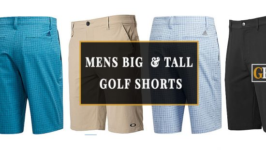 MENS BIG and tall golf shorts
