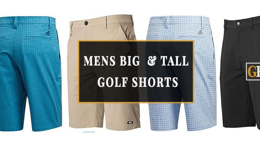 MENS BIG and tall golf shorts