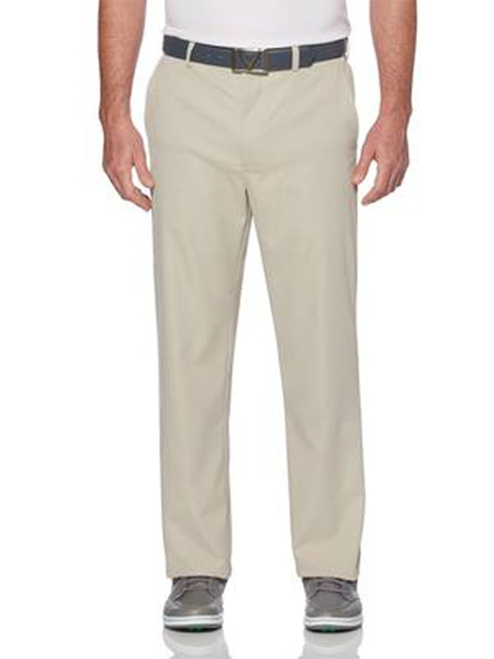 Callaway Big and Tall Stretch Lightweight Classic Golf Pant with Active Waistband