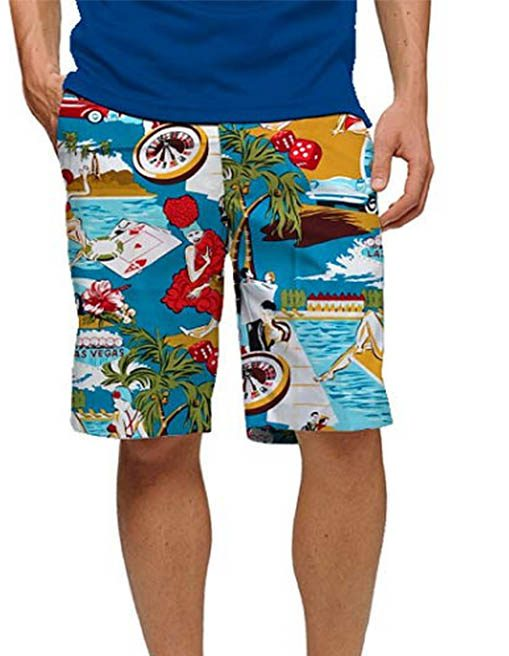 big and tall crazy golf shorts - loudmouth golf shorts
