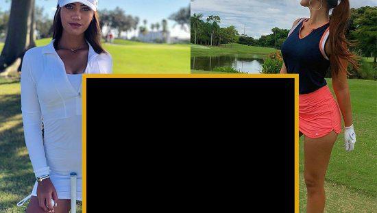 stylish women golf clothes
