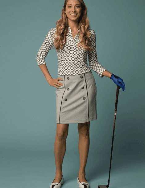 High-End Golf Apparel by Lizzie Driver