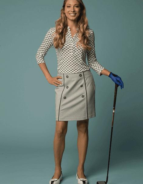 women golf fashion trend