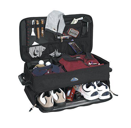 golf trunk organizer, gifts for golfers under $50, men,