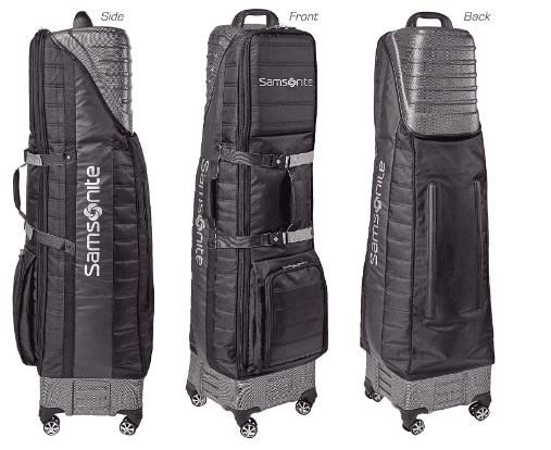 best hard case golf travel bags with wheels-Samsonite