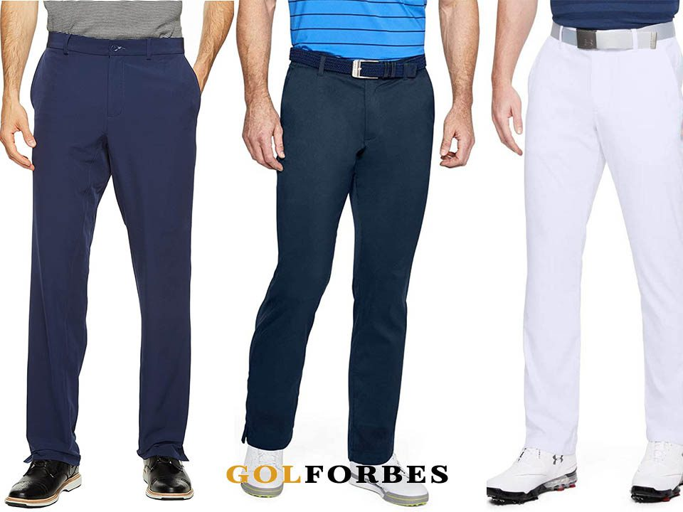 8 Best Golf Pants For Cold Weather In 2021 ( Men Golf Pants and Womens Golf Clothes) 1