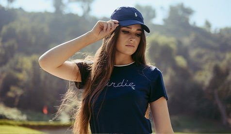 ladies high end golf clothes