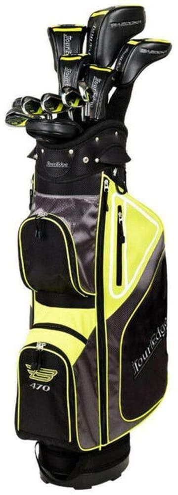 tour edge bazooka men golf club set for beginners