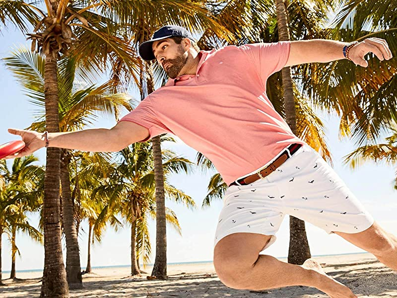 10 Best Golf Shorts For Big Guys In 2021 (Best Golf Shorts Reviews) 1