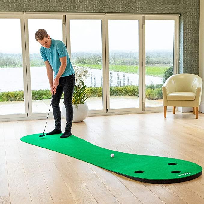 best golf practice mat uk-best golf mat and net